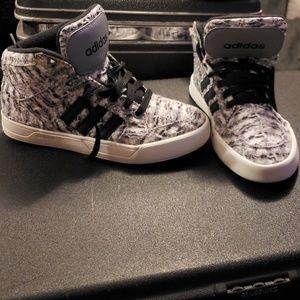 Adidas  black and white